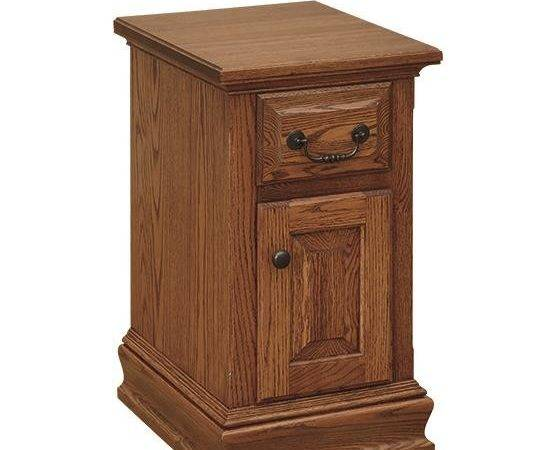 Small Royal Colonial Nightstand Dutchcrafters Amish