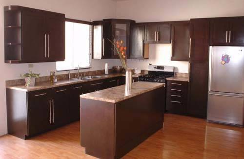 Small Shaped Kitchen Layouts Design Photos