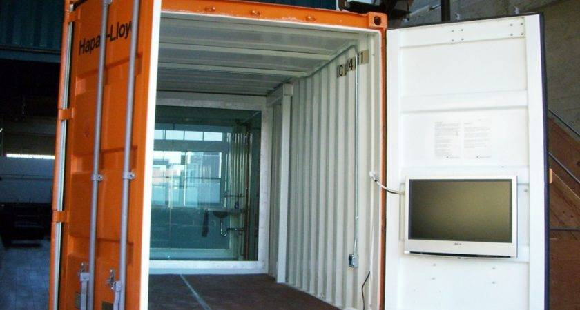 Small Shipping Container House Design