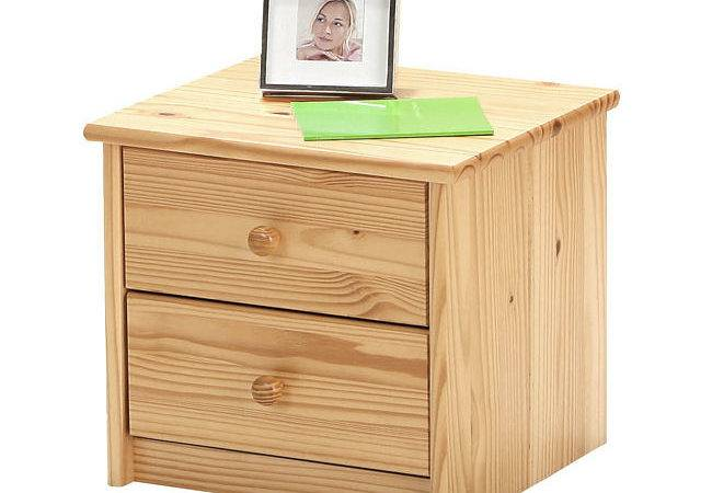 Small Solid Pine Drawer Bedside Table Cabinet Night