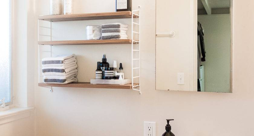 Small Space Bathroom Tips Plus Decluttered