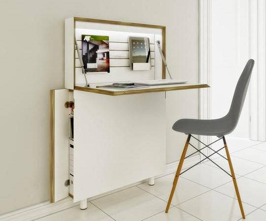 Small Space Desk Solutions Pinterest