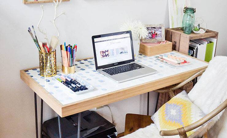 Small Spaces Create Home Office Tiny