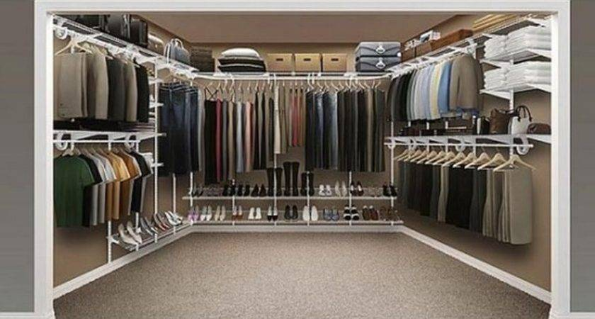 Small Walk Closet Organization Systems Steveb