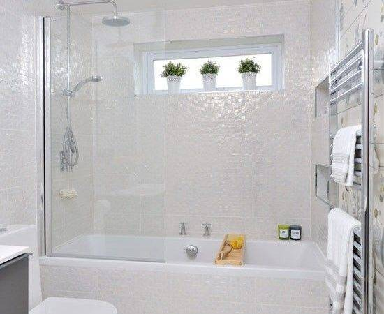 Small White Bathroom Tiles Ideas