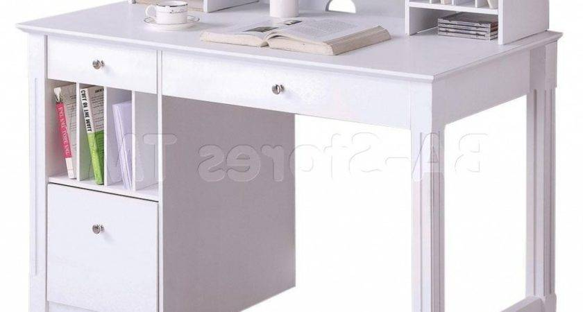 Small White Desks Bedrooms Best Home Office