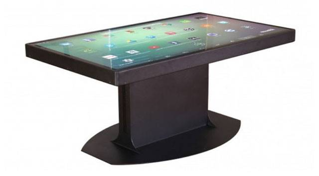 Smart Table Based Windows Android Future Technology