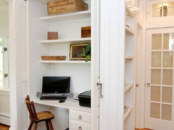 Sneaky Storage Solutions Small Spaces