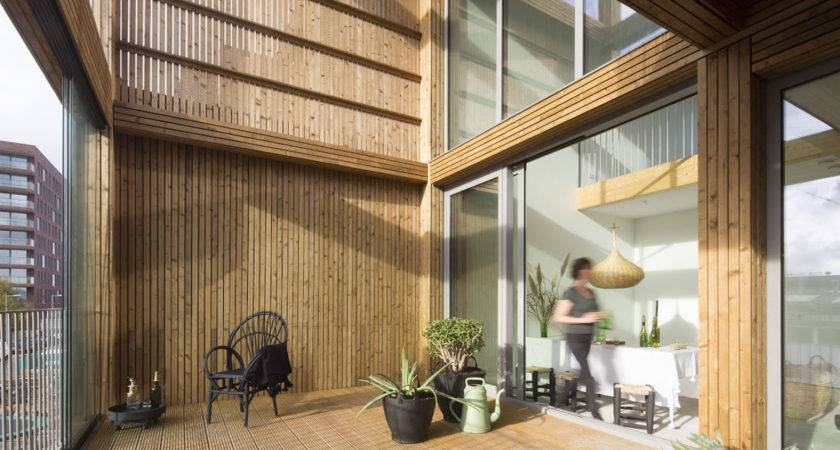 Solar Powered Wooden Lofts Heated Independently