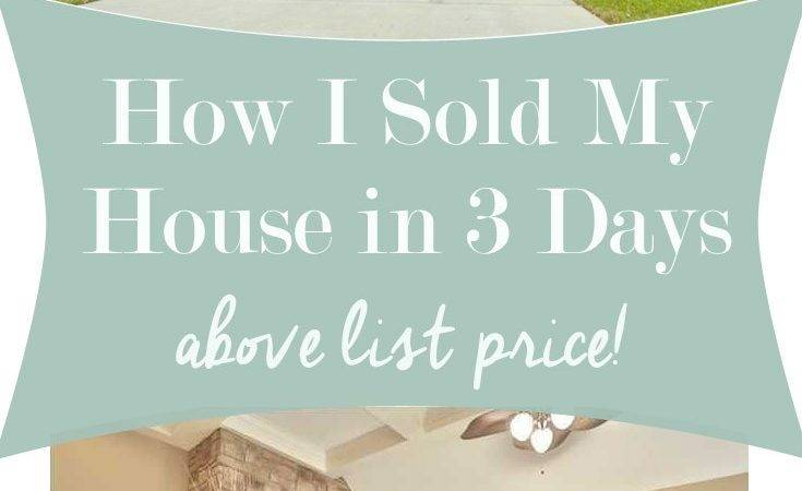 Sold House Days Above List Price Home Staging