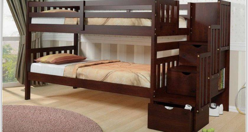 Solid Wood Bunk Beds Twin Over Uncategorized