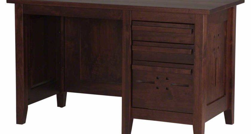 Solid Wood Computer Desk Home Office