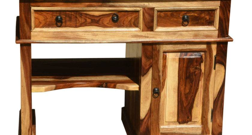 Solid Wood Computer Desk Small Space