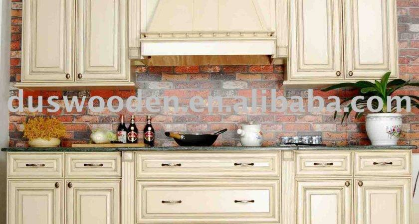 Solid Wood Kitchen Cabinets Decobizz