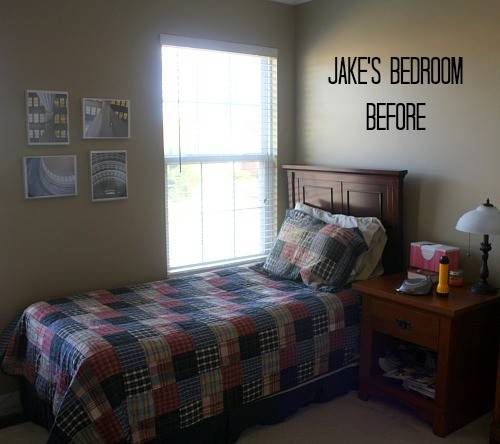 Son Small Bedroom Makeover Final Reveal