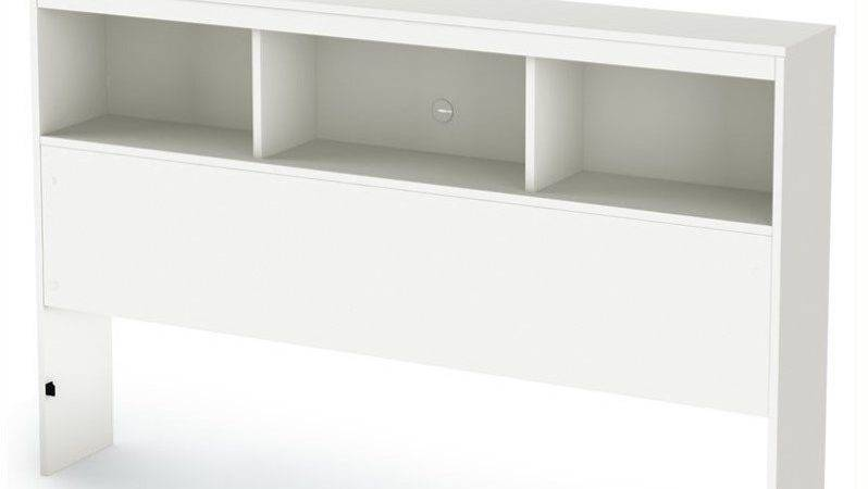 South Shore Affinato Bookcase Pure White Finish