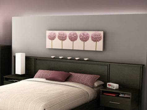 South Shore Gravity Collection Queen Headboard Built