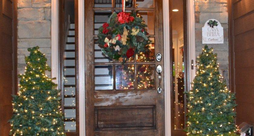 Southern Accents Christmas Trees Porch