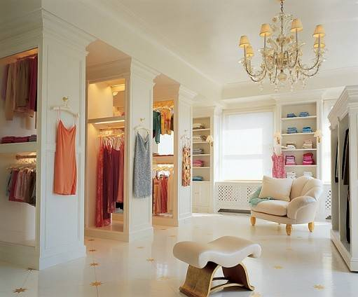 Southern Chateau Fabulous Dressing Rooms Closets