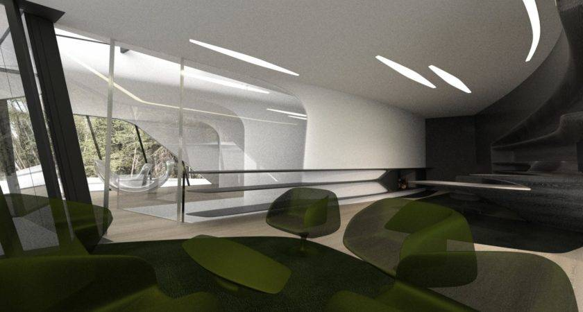 Space Age Home Interior Design Ideas