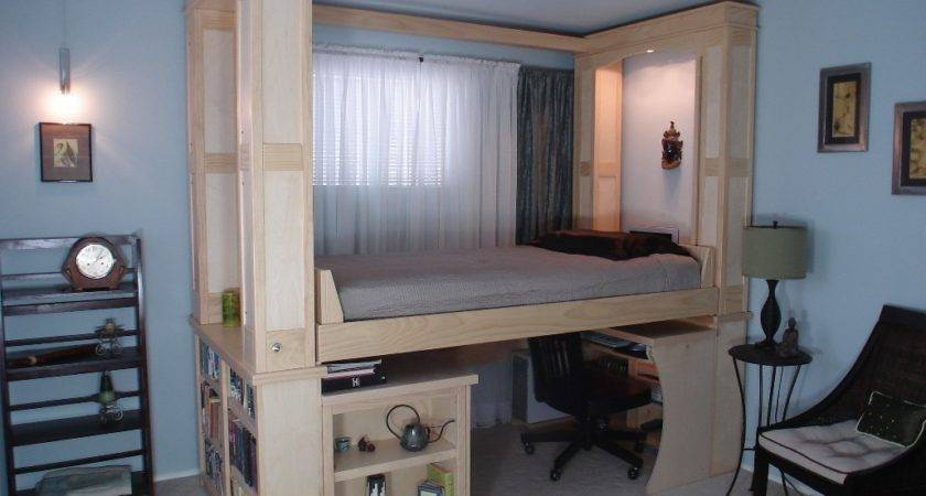 Space Creating Bed Small Living