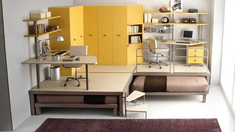 Space Saving Furniture Ideas Kids Rooms Twistedsifter