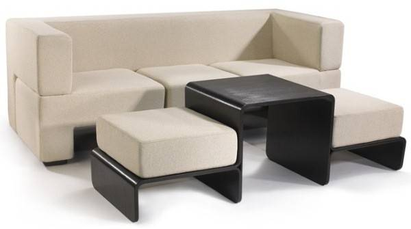 Space Saving Furniture Series Matthew Pauk Slot Sofa
