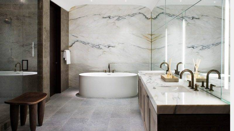 Spectacular Rooms Marble Walls
