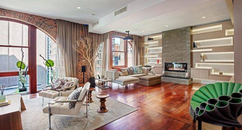 Spectacular Tribeca Loft Combining Two Duplex Penthouses