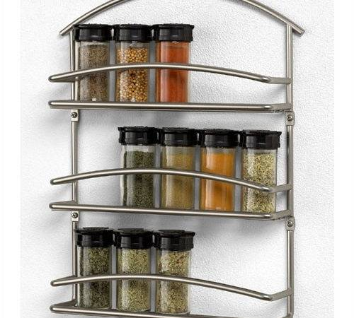 Spectrum Diversified Scroll Wall Mounted Spice Rack