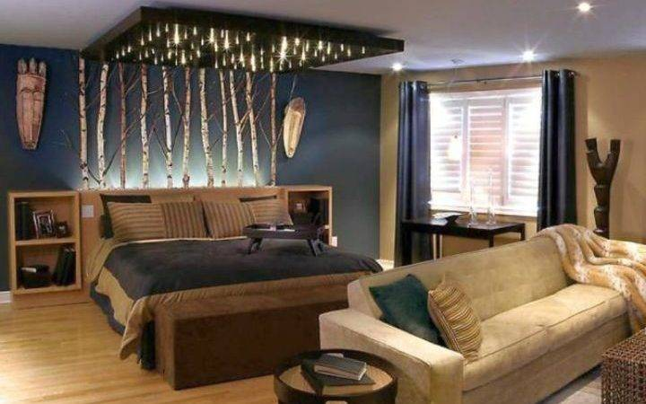 Sporty Bachelor Bedroom Decorating Ideas