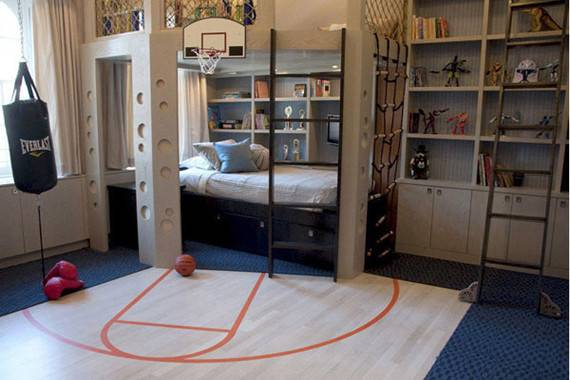 Sporty Boys Bedroom Ideas Perianth Interior Fans