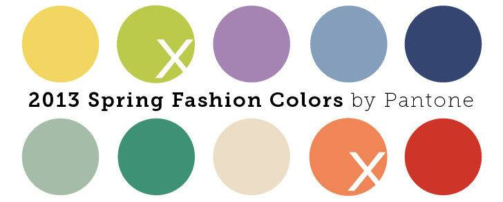 Spring Colors Soothing Neutrals Energizing Brights