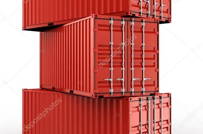 Stacked Shipping Container Zentilia