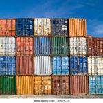 Stacked Shipping Containers Photos