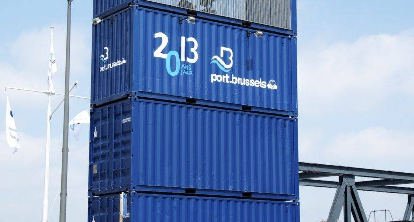 Stacked Shipping Containers References Mechanic