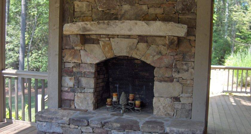 Stacked Stone Fireplace Beautiful Cock Love