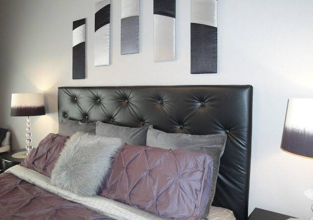 Staged Kim Upholstered Tufted Headboard