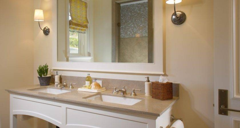 Staggering Framed Oval Mirrors Bathrooms Decorating