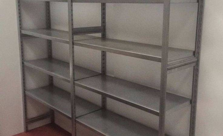 Stainless Steel Shelving Units Used Excellent Condition