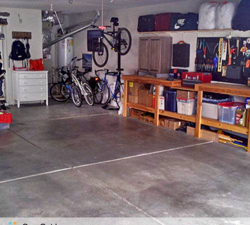 Standard Cleaning One Two Three Car Garage