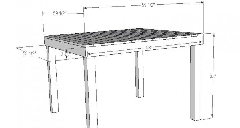 Standard Counter Height Kitchen Bar Table