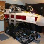 Star Wars Inspired Wing Bed Geektyrant