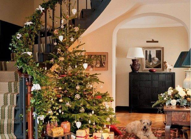 Stately Homes Decorated Christmas