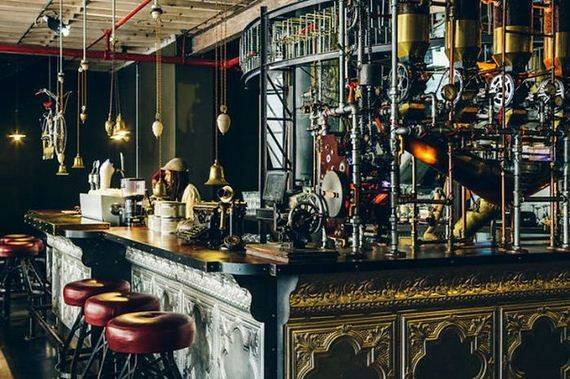 Steampunk Cafe South Africa Barnorama