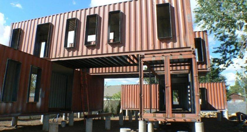Steel Container House Plans Design