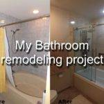 Step Diy Bathroom Remodeling Project Youtube