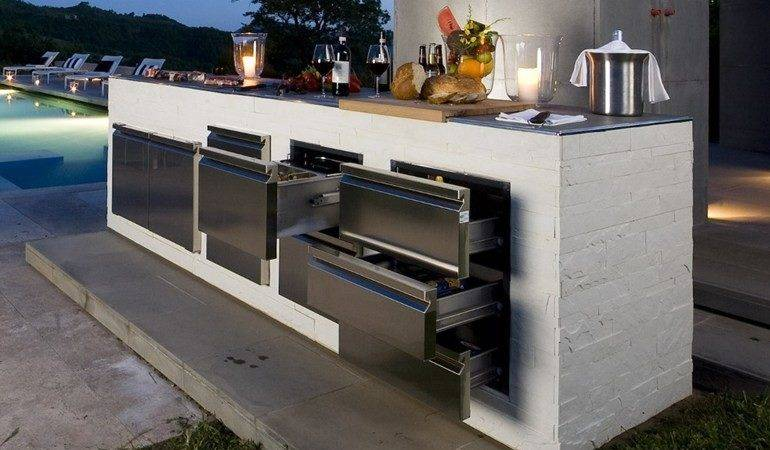 Step Out Enjoy Beauty Modern Outdoor Kitchens