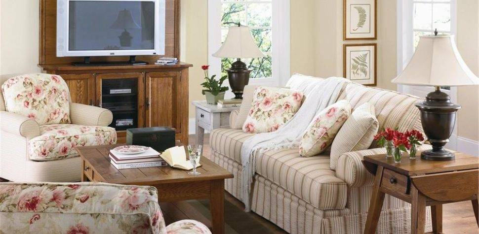 Steps Decorate Small Living Room