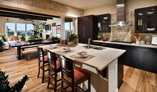 Stone Accent Wall Kitchen